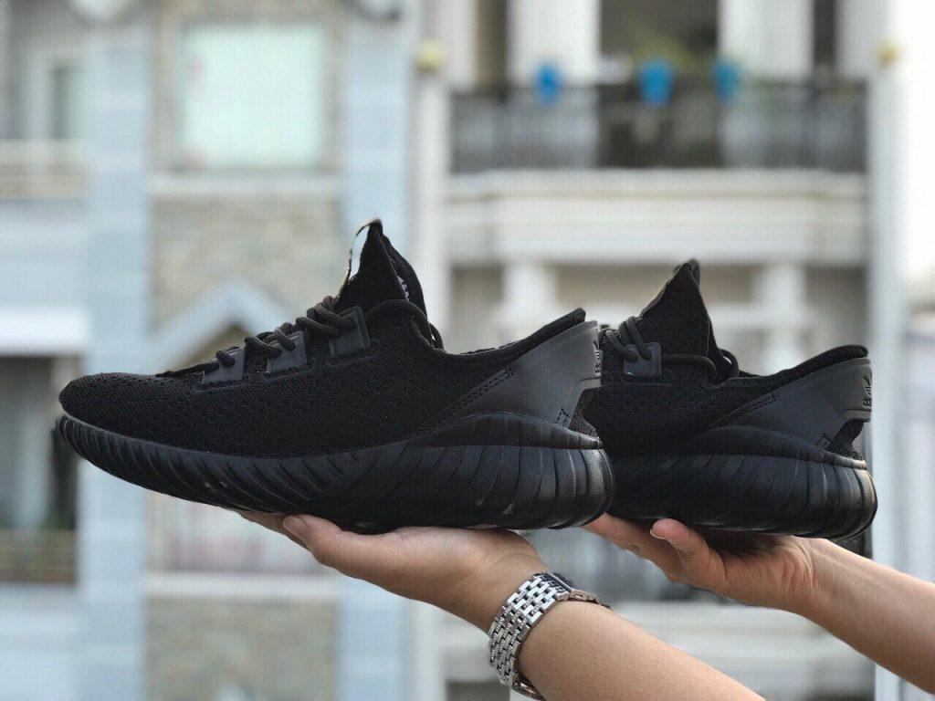 Giày Tubular Doom sock full black