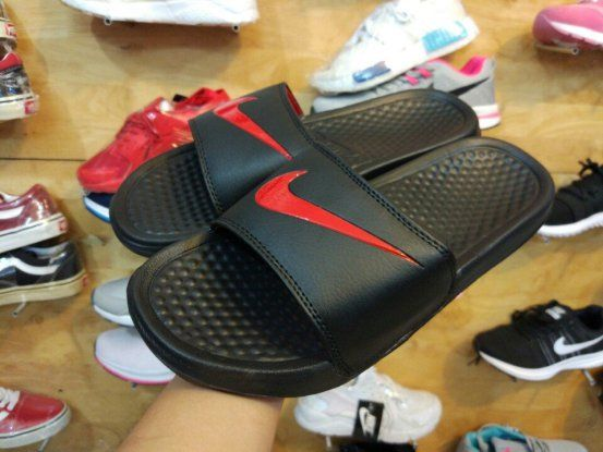 Dép Nike Benassi đen full
