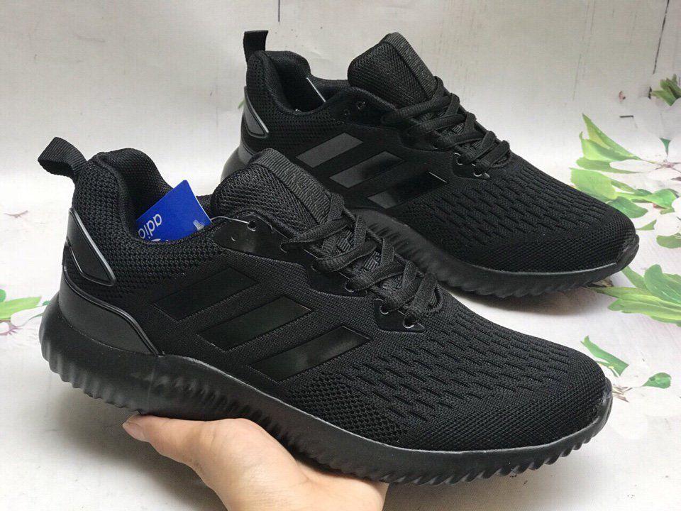 Giày Adidas Alphabounce đen full