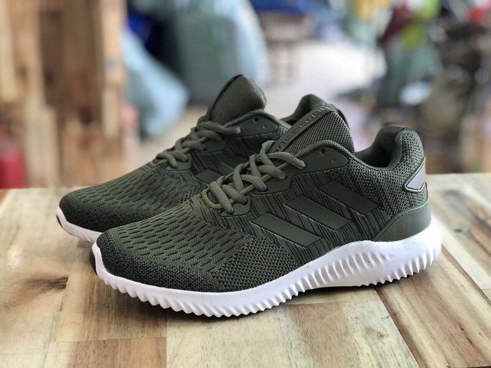 Giày Adidas Alphabounce xanh rêu