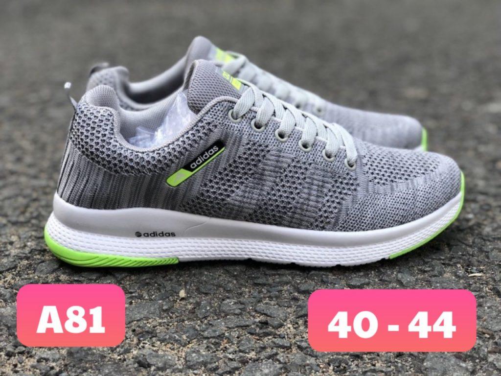 Giày Adidas Neo nam A81 xám