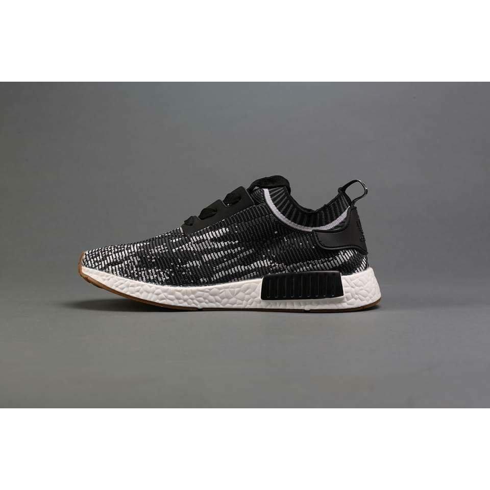 online retailer a4437 75b3a giày adidas nmd r1 đen 1