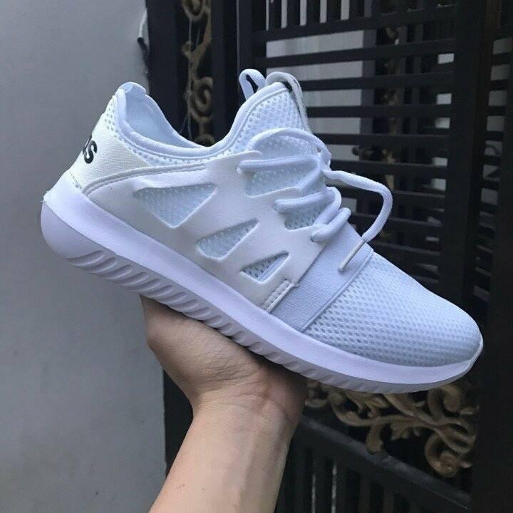 Giày Adidas Tubular trắng 1