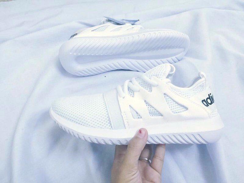Giày Adidas Tubular trắng