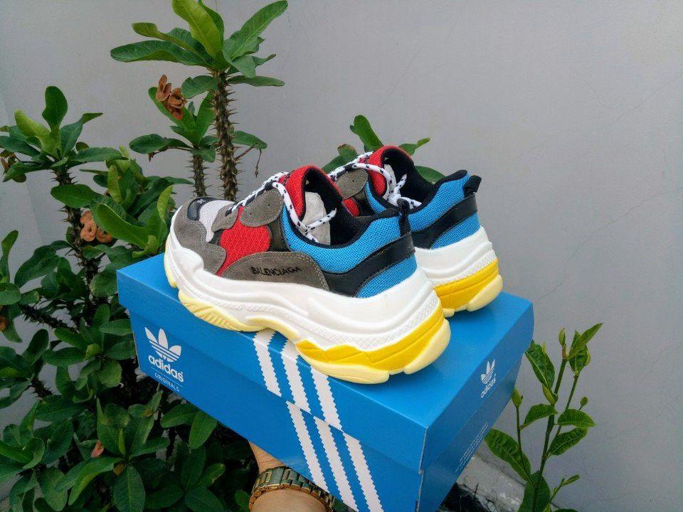 Giày Balenciaga Triple S đỏ ảnh 2