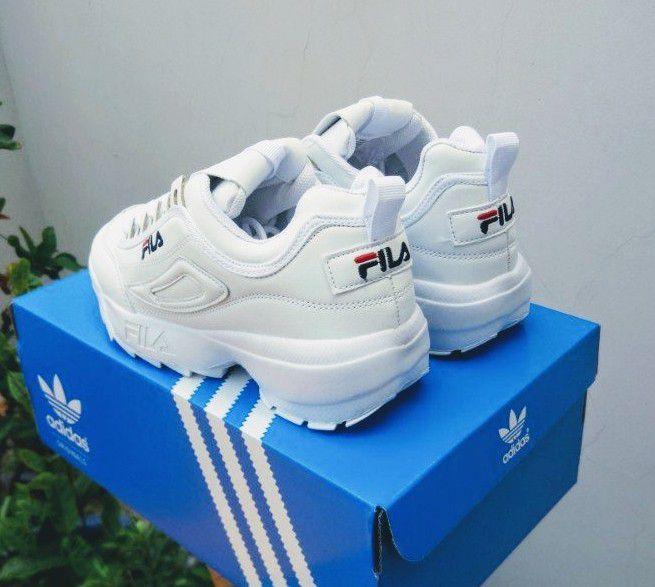Giày Fila trắng full 2