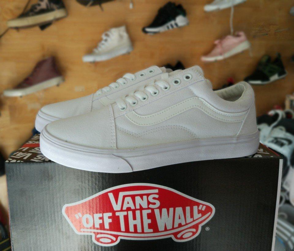 giày vans old skool trắng full 2