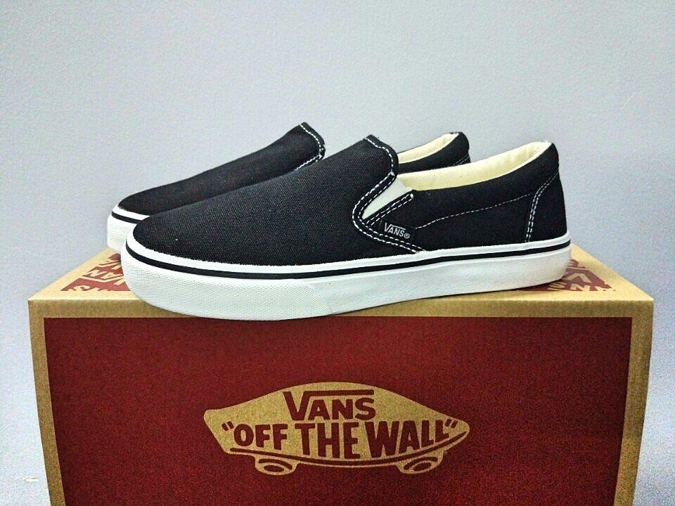 giày vans slip on đen