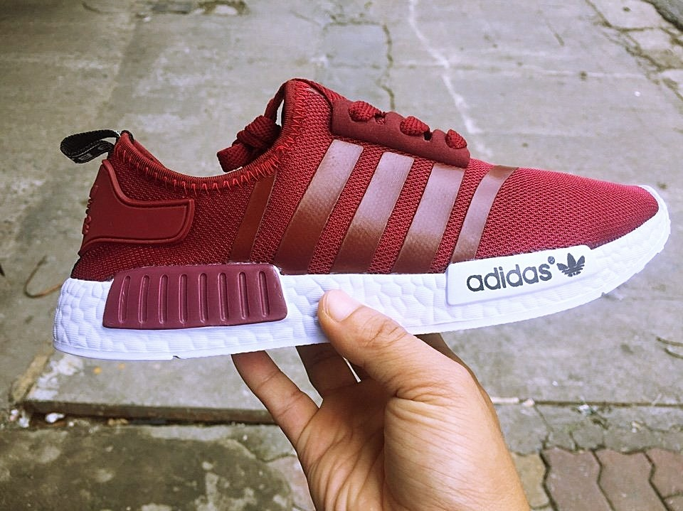Giày Adidas NMD đỏ đô
