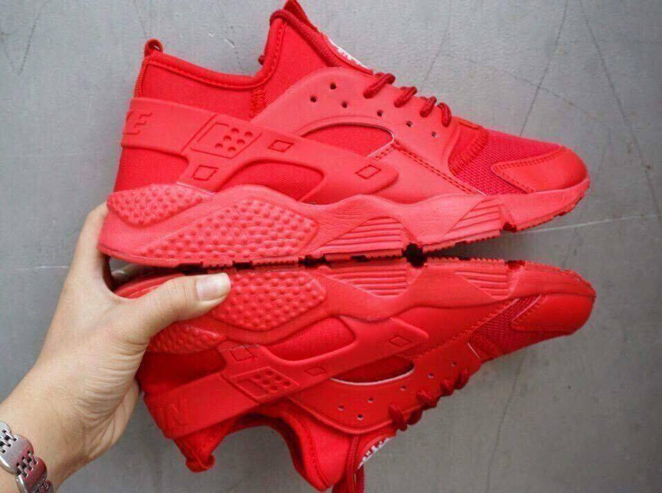 Giày Nike Huarache đỏ full