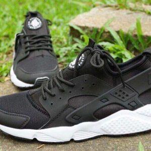 Giày Nike Huarache đen đế trắng