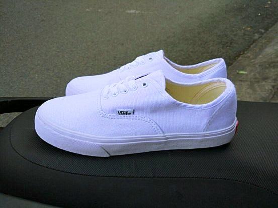 giày vans classic trắng full