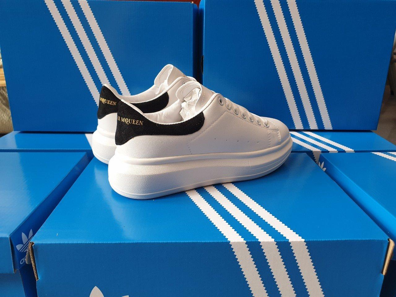 giày mcqueen f1 đen 3