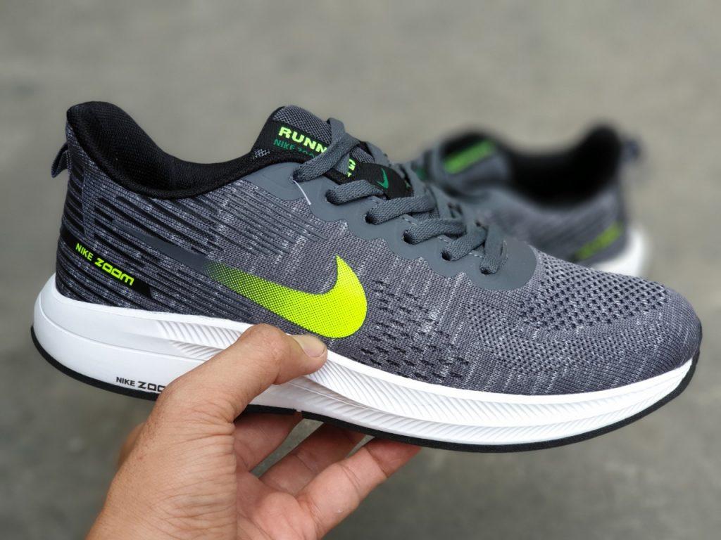 Giày Nike nam zoom F10 xám đen