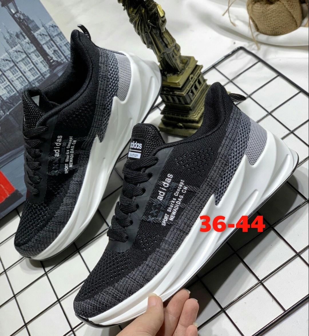 Giày Adidas 2019 cá mập đen