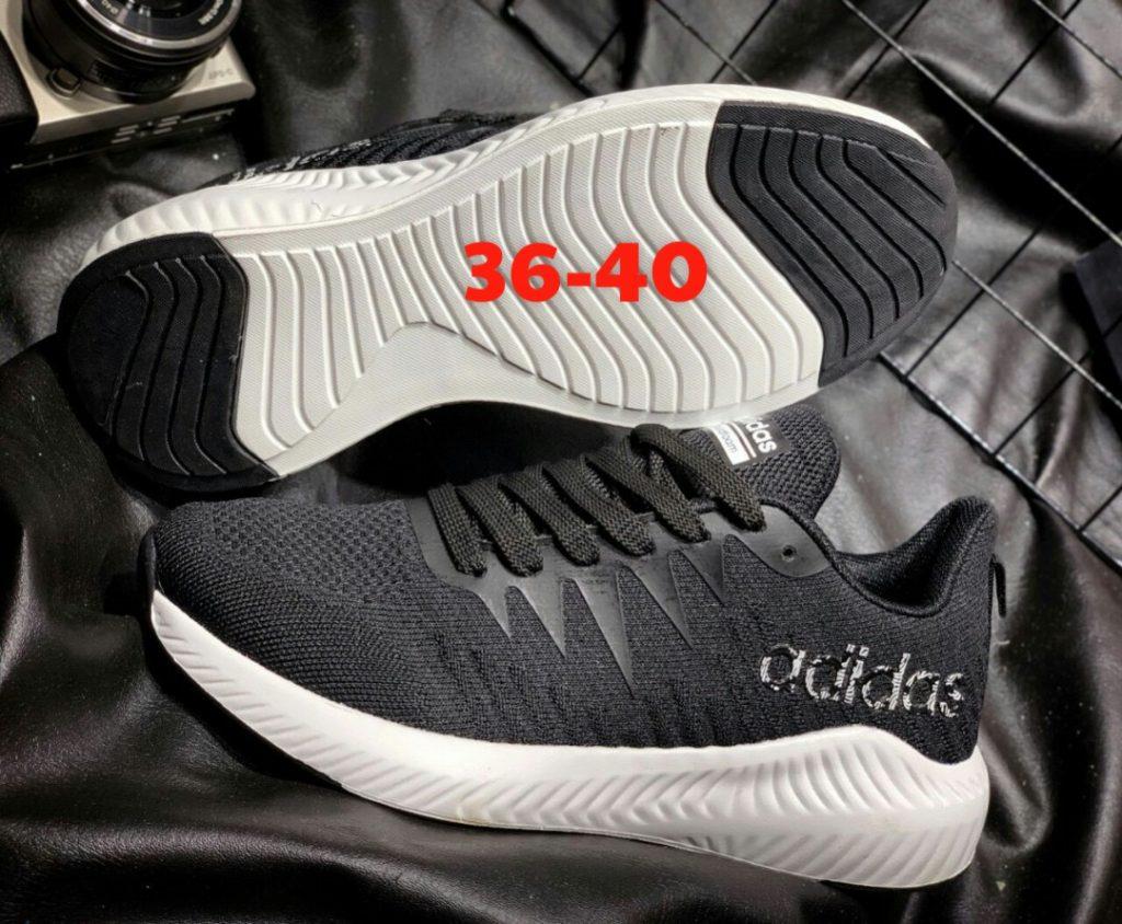 giày Adidas 2019 đen trắng