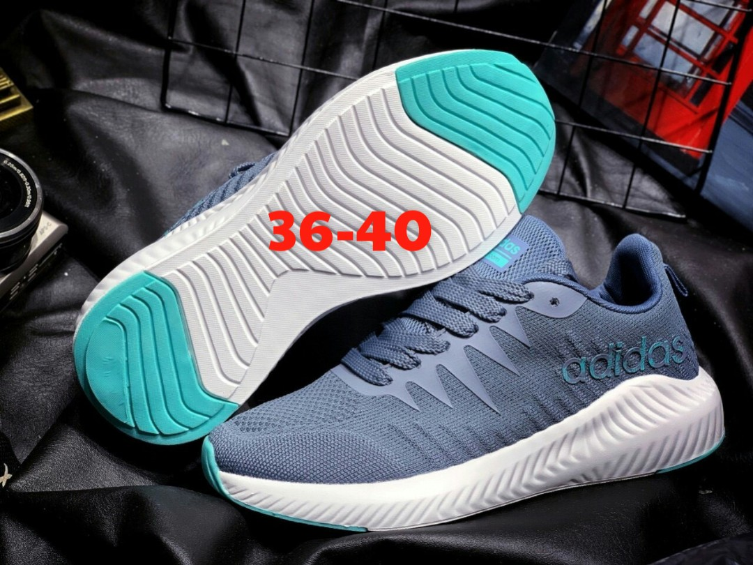 giày Adidas 2019 xám xanh
