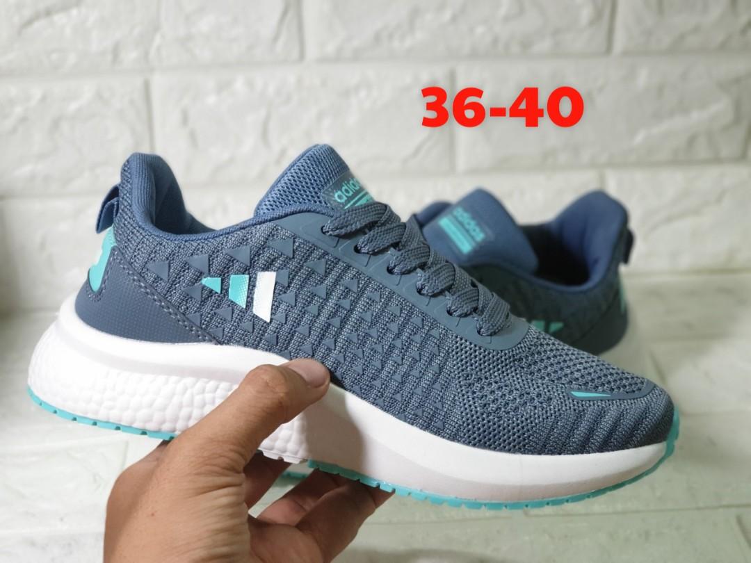 giày adidas neo xám xanh v29