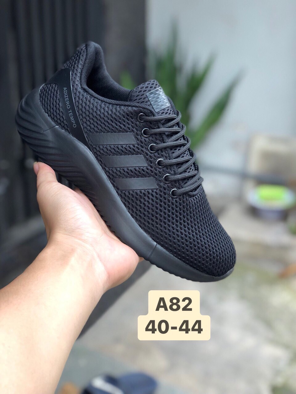 Giày Adidas Neo A82 đen full