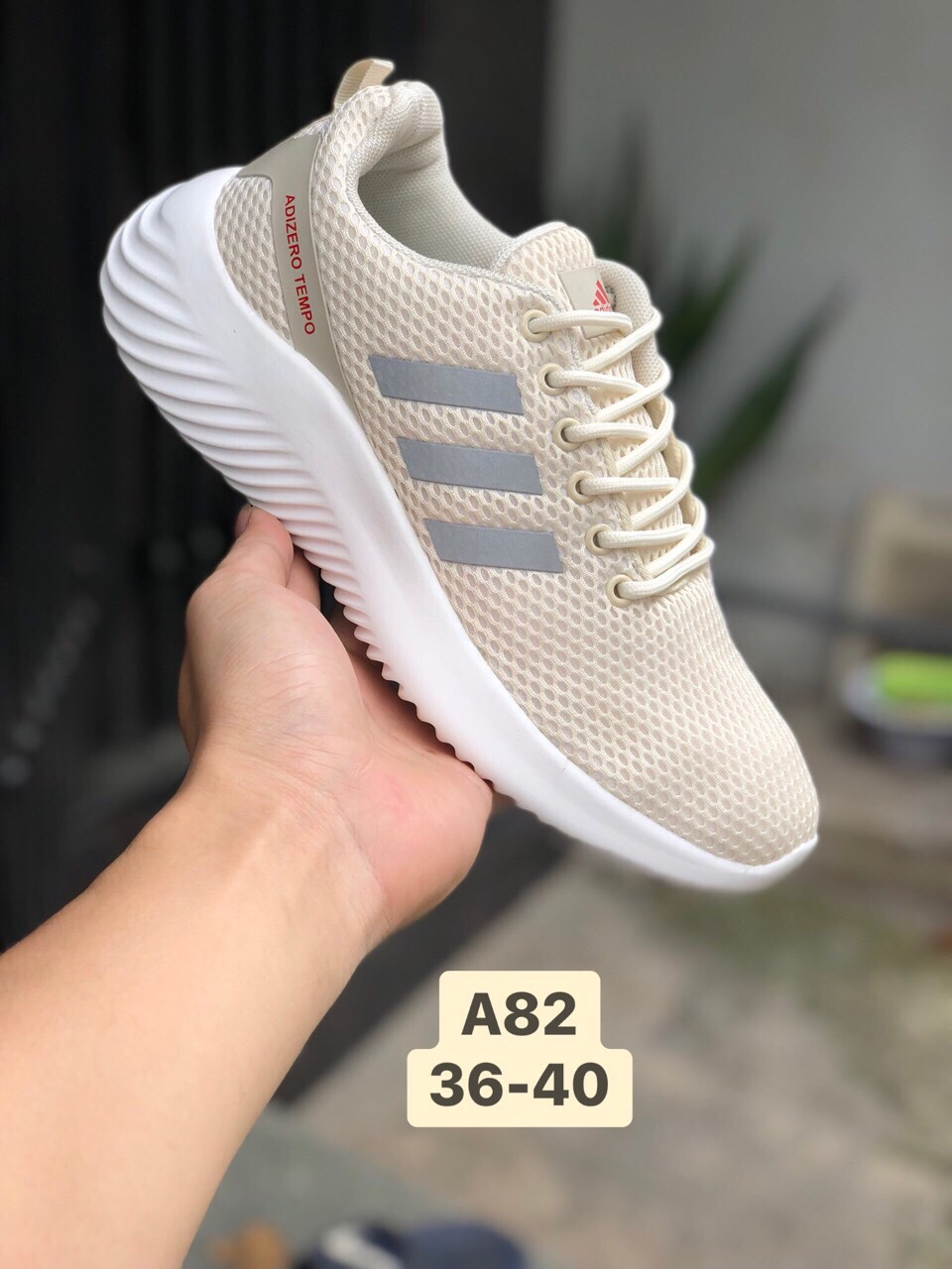 Giày Adidas Neo A82 màu kem