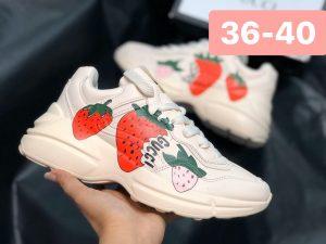 Giày Gucci nữ dâu -2