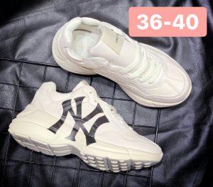 Giày Gucci nữ trắng NY