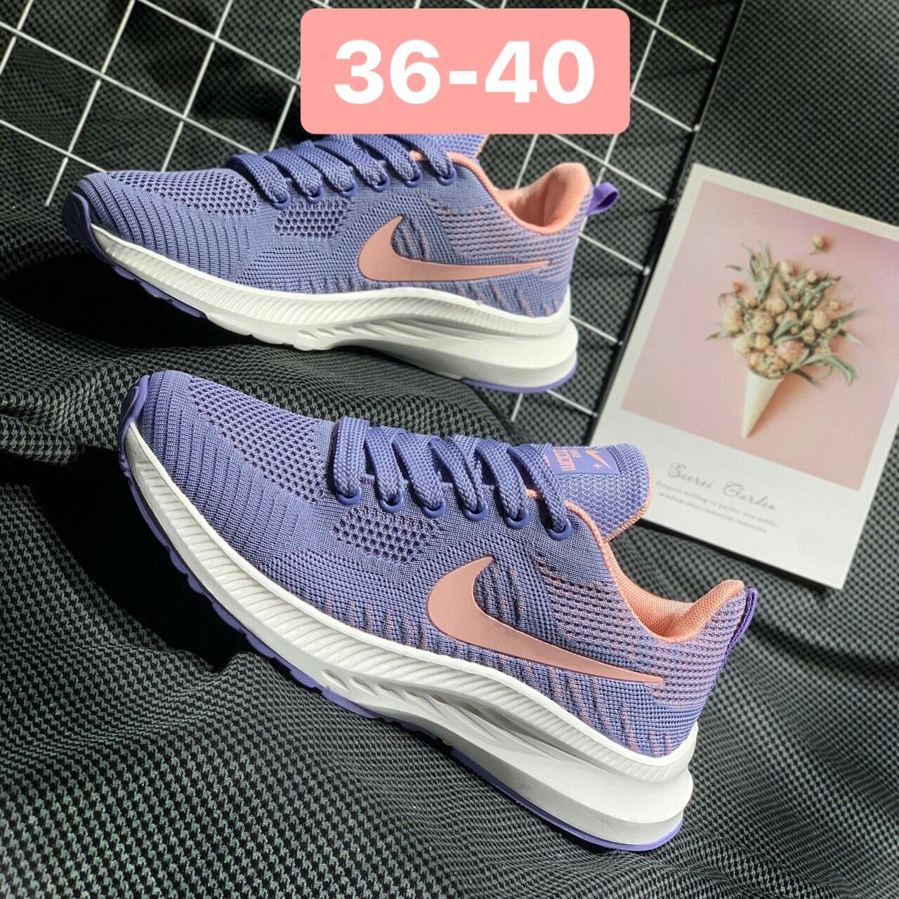 Giày Nike Zoom nữ F17 màu tím Pastel