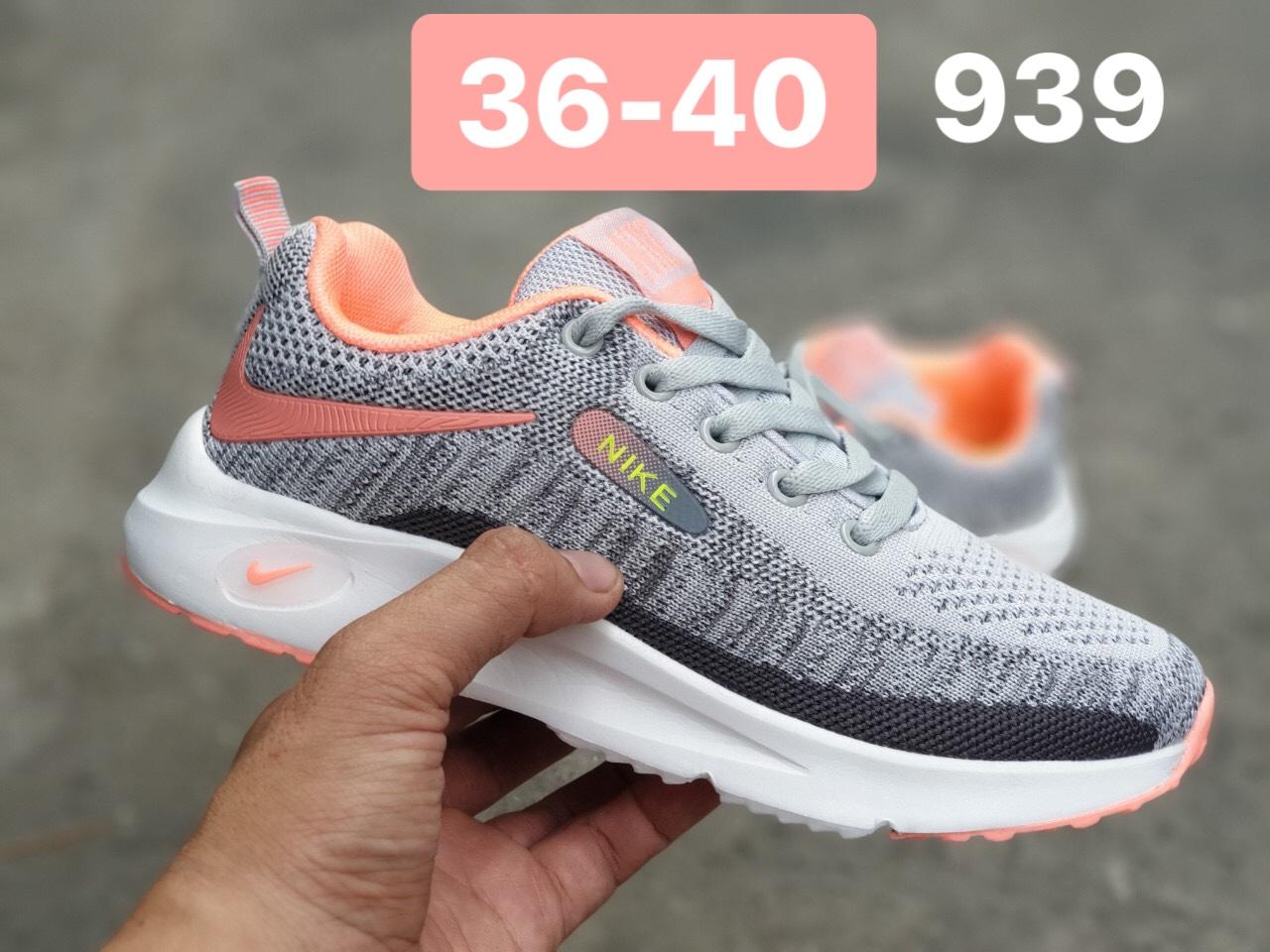 Giày Nike Zoom nữ F19 màu xám cam