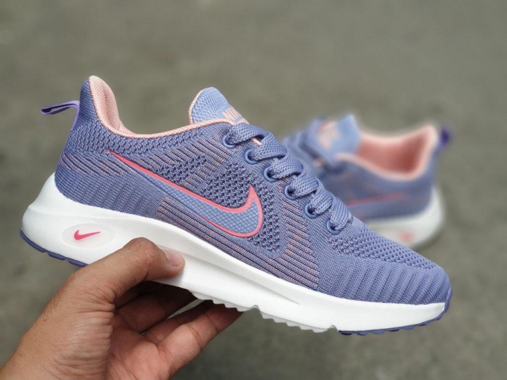 giày nike zoom nữ F11 màu tím pastel