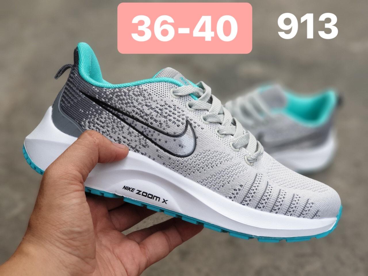 Giày Nike Zoom nữ F20 màu xám xanh